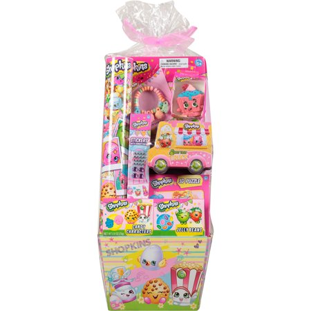 Frankford Shopkins Toys And Candy Filled Easter Basket Walmart Com