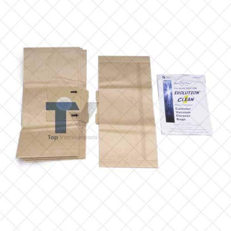 Dust Care DCC358, DCC9009 Canister Vacuum Cleaner Paper Bags 5PK // 17-2401-07