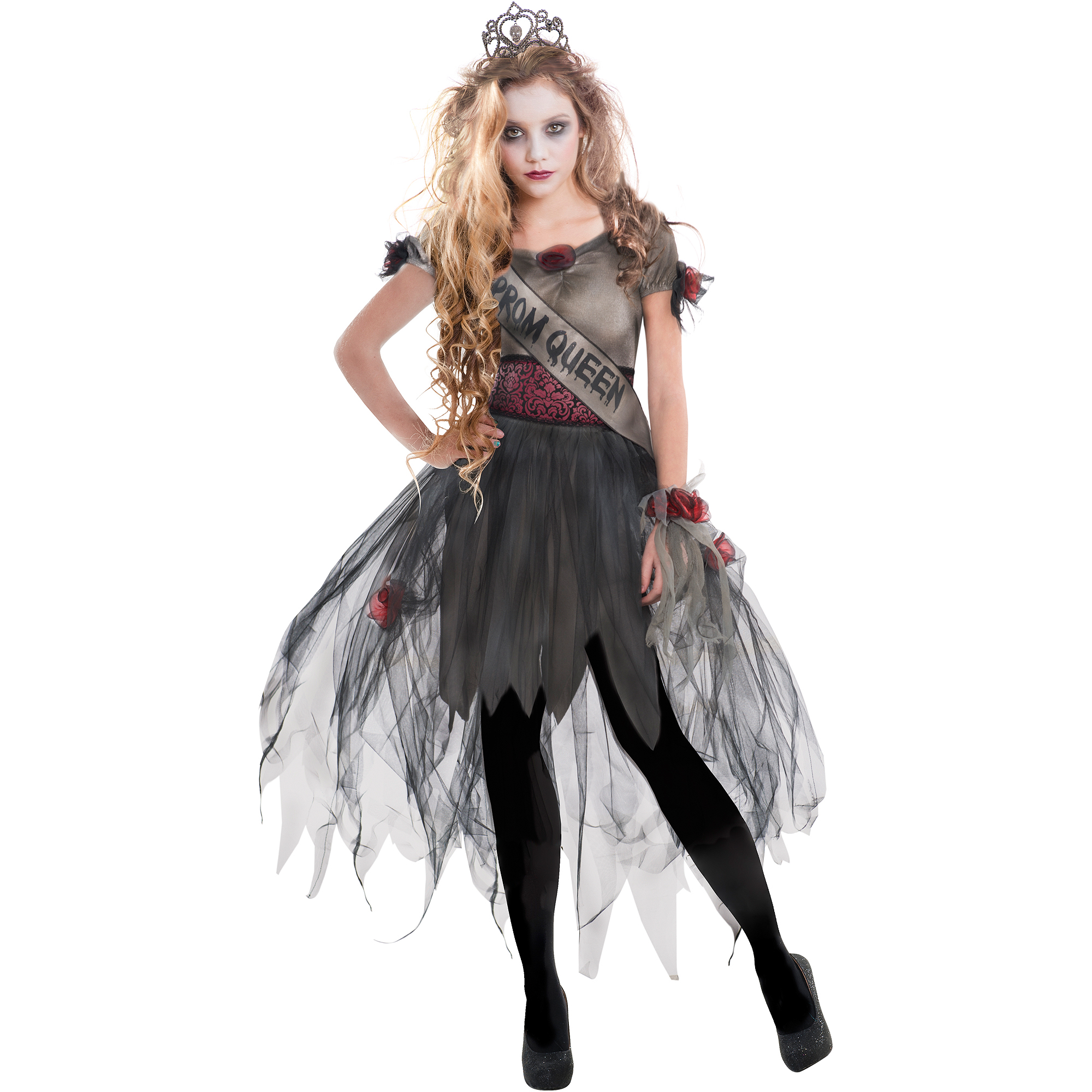 Prom Zombie Adult Dress Up / Role Play Costume - Walmart.com