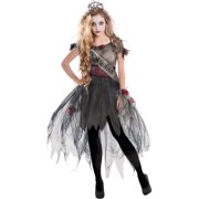 Prom Zombie Adult Dress Up / Role Play Costume