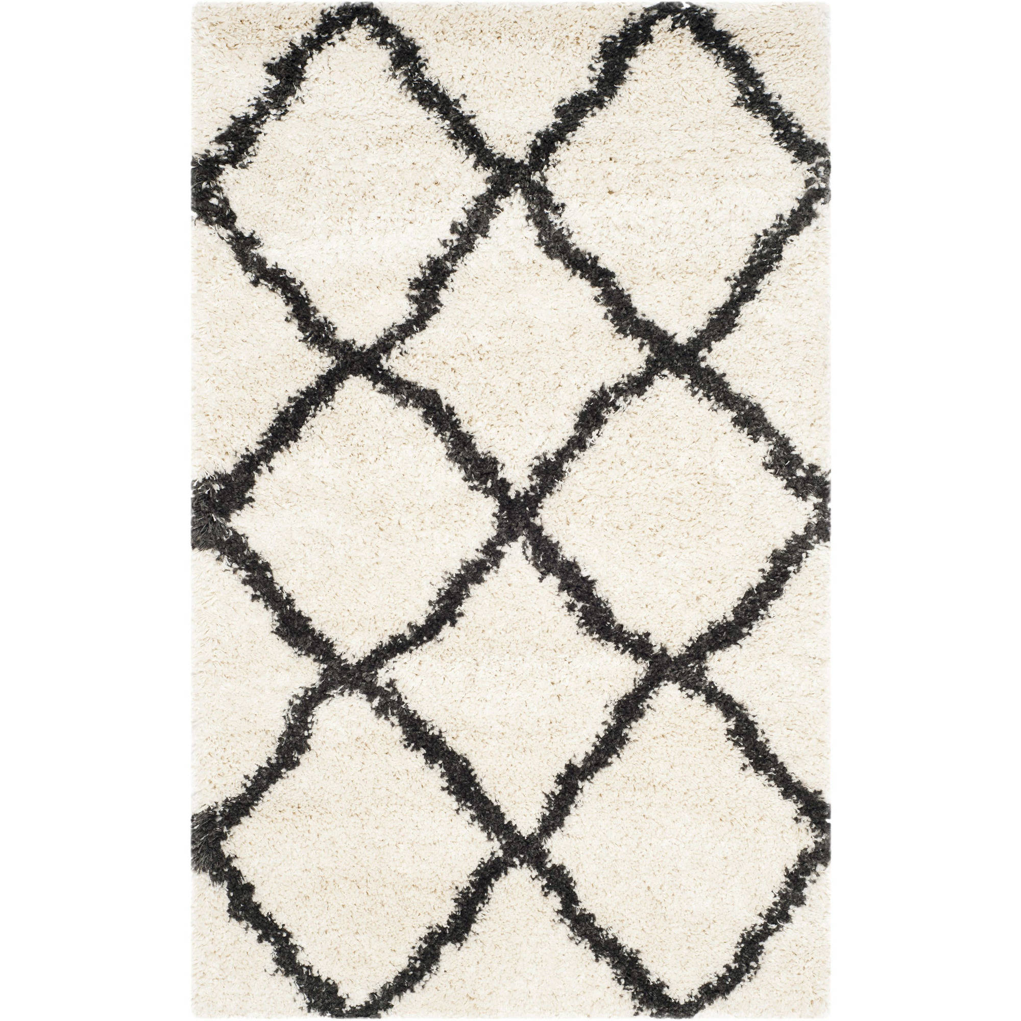 Safavieh Belize Joisse Geometric Plush Shag Area Rug or Runner by Safavieh