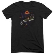 Night Ranger 7 Wishes Mens Tri-Blend Short Sleeve Shirt
