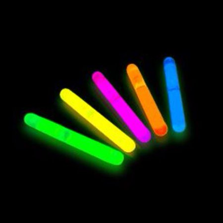 Glow Sticks Mini Assorted Pack of - Pack Of Glow Sticks