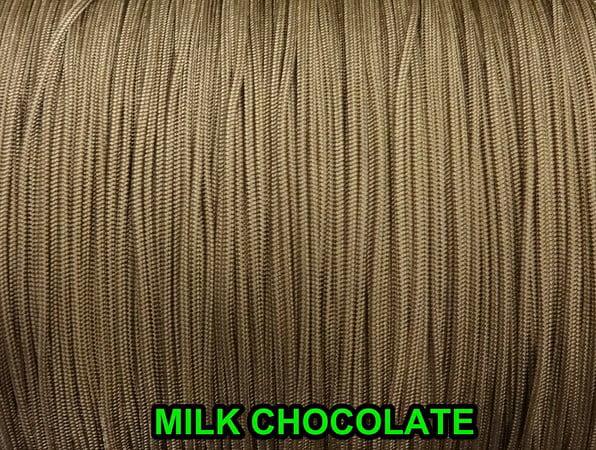 1.6 MM MILK CHOCOLATE LIFT CORDROMAN//PLEATED shade /&HORIZONTAL blind 20 FEET