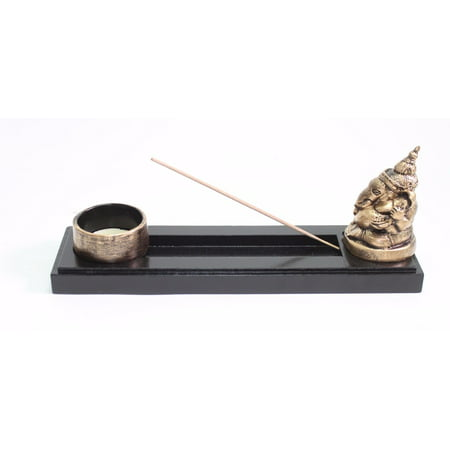 Elephant Ganesha Zen Incense Burner Candle Holder with Candle Home Decor - Elephant Candles