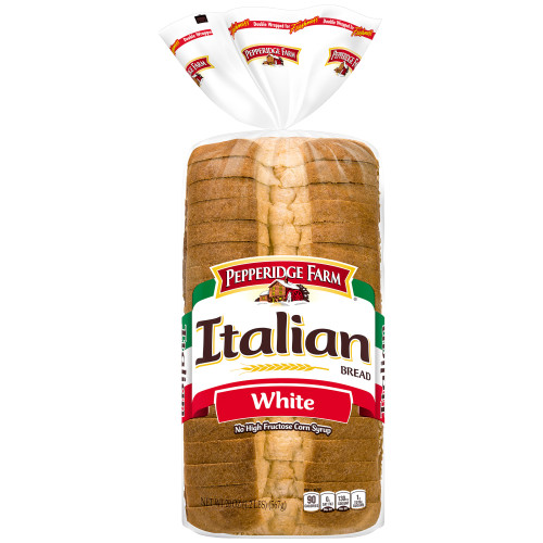 Pepperidge Farm Italian White Seedless Bread, 20 oz. Bag