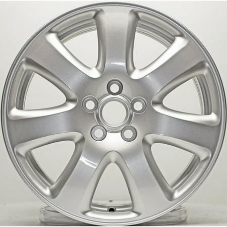 New Replica Aluminum Alloy Wheel Rim 17 Inch Fits 04-08 Jaguar X-Type 5-108mm 7 Spokes (Jaguar S Type Wheels)