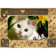 Giftworks Plus WHS0002 We Heart Our Pet, Alder Wood Frame, 8 x 10 In