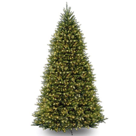 7.5' Pre-Lit Dunhill Artificial Christmas Tree - Clear (7-5 Ft Dunhill Fir Full Artificial Christmas Tree)