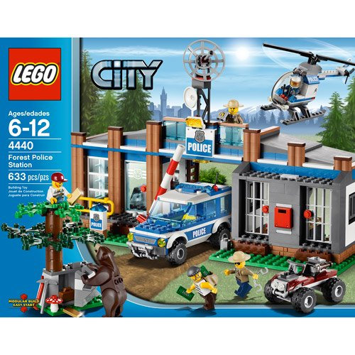 Lego City Forest Police Station Walmartcom