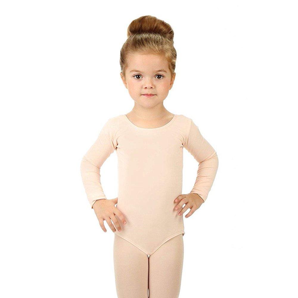 Elowel Pajamas - Elowel Girls Tank Leotard Nude Pink