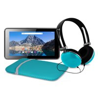 """Ematic 7"""" 16GB Tablet with Android 7.1 (Nougat) + Sleeve and Headphones (EGQ373TL)"""