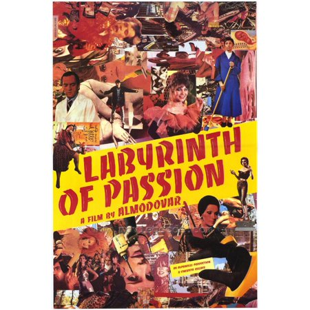 Labyrinth of Passion POSTER Movie (27x40) - Labyrinthe Halloween
