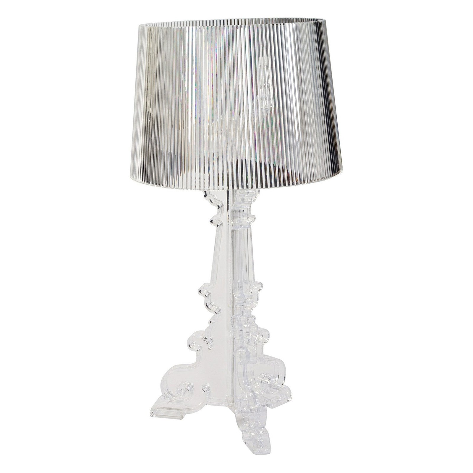 French Acrylic Table Lamp Clear Walmart Com