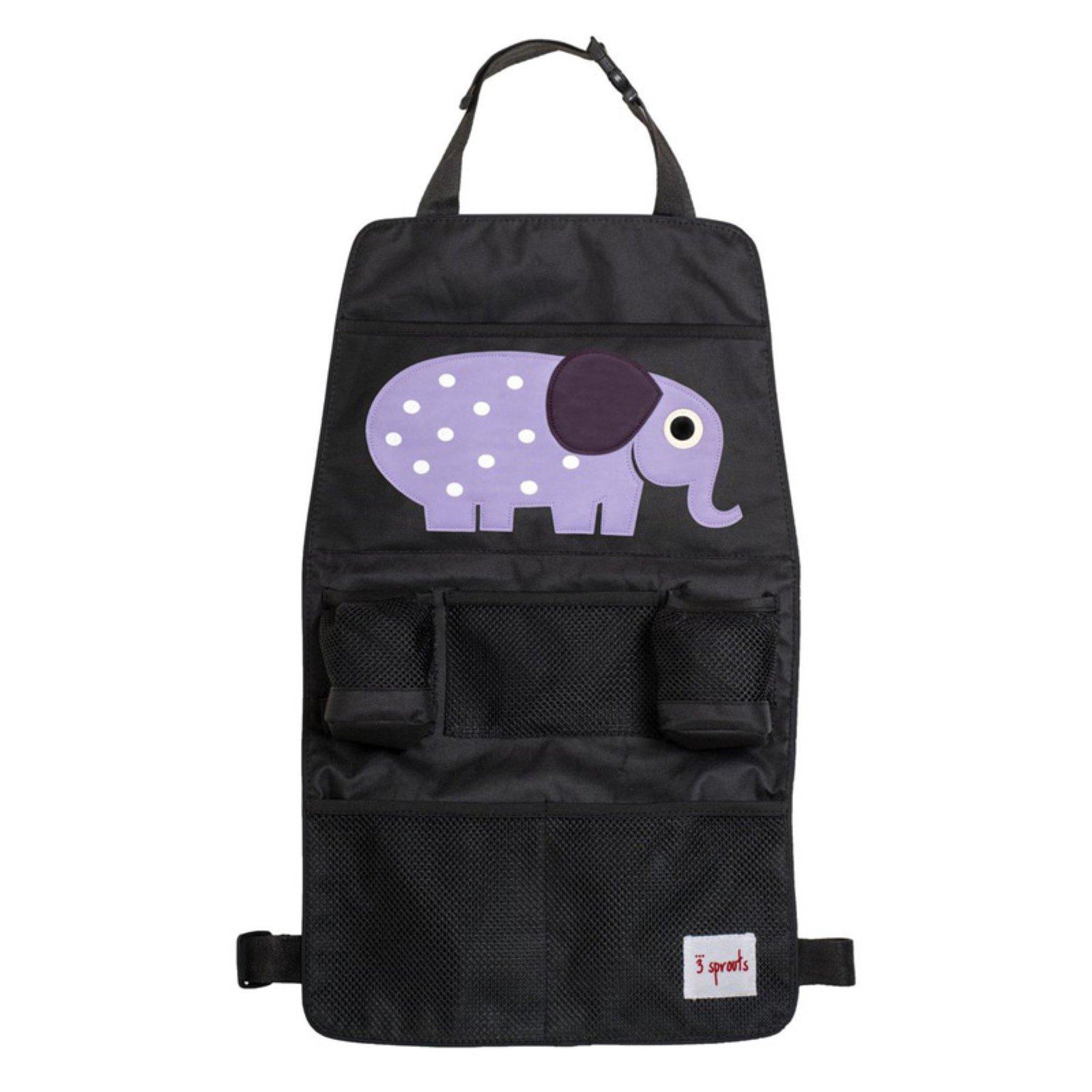 3 Sprouts Backseat Organizer - Elephant