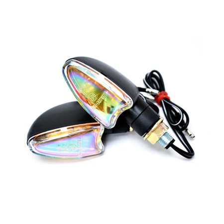 Mini Custom Turn Signals Indicator Lights Lamp For Harley Davidson Softail Heritage Custom - image 4 of 4