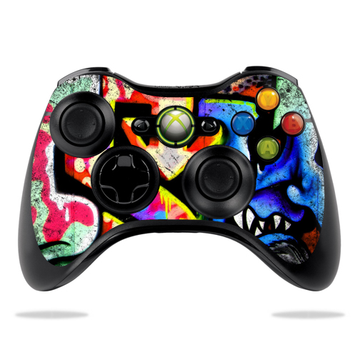 Protective Vinyl Skin Decal Cover for Microsoft Xbox 360 Controller wrap sticker skins... by MightySkins