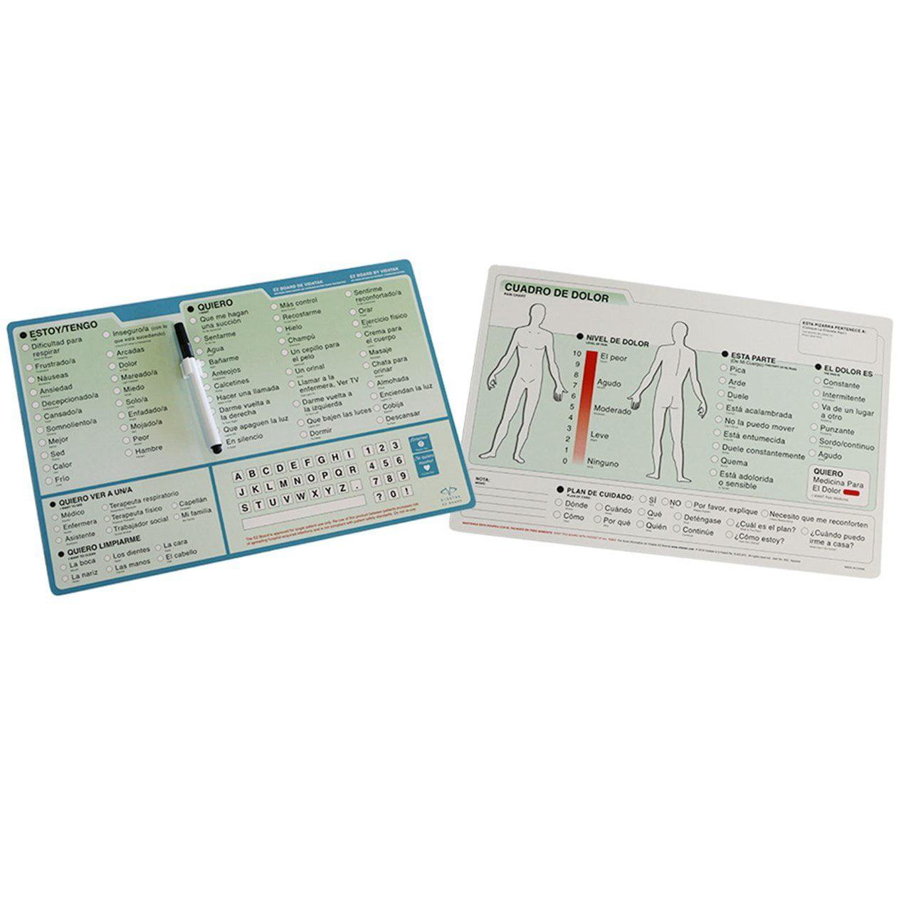 Communication Board - Spanish Word Board, Ship from USA,B...