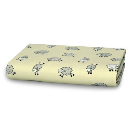 Cotton Cuddle Ring (Cuddles & Cribs Sheep Cotton Fitted Crib Sheet )