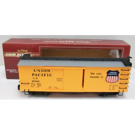Bachmann 93301 G Scale Union Pacific Boxcar (Ho Southern Pacific Boxcar)