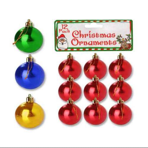 Christmas Bulb Ornament - Set of 25