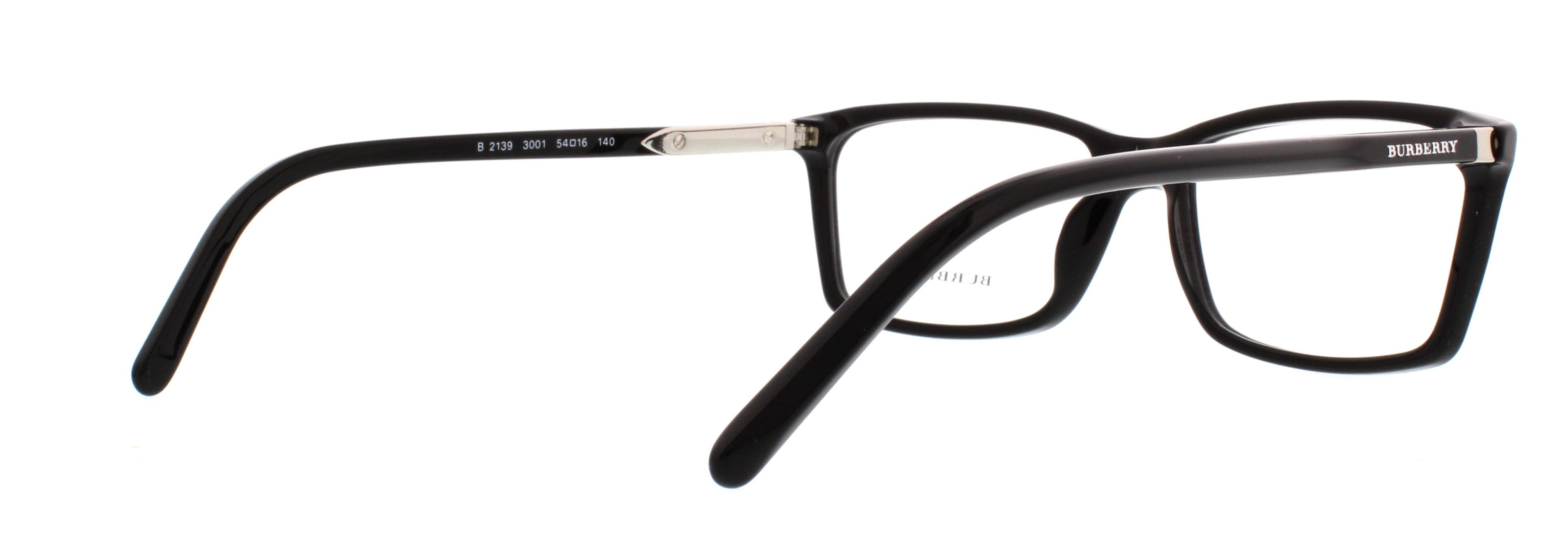 916d830d8b61 BURBERRY Eyeglasses BE 2139 3001 Black 54MM - Walmart.com