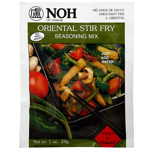 NOH of Hawaii Oriental Stir Fry Seasoning Mix, 1 oz, (Pack of 12)