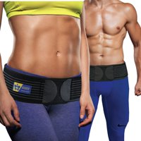 Everyday Medical Sacroiliac Joint Hip Support Belt with Anti-Slip Strips