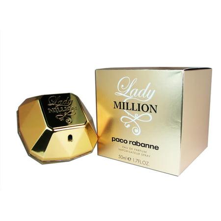 Lady Million By Paco Rabanne 1 7 Oz 50 Ml Edp