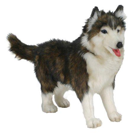 Huskey Dog (Hansa Husky Dog Plush Toy)