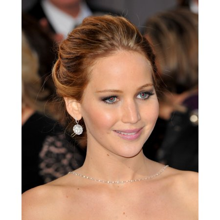 Jennifer Lawrence At Arrivals For The 85Th Annual Academy Awards Oscars 2013   Pt 2 Canvas Art     16 X 20