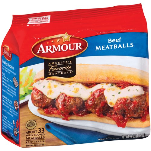 Armour Beef Meatballs, 28 oz