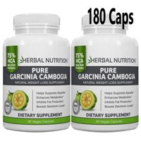 Garcinia Cambogia - BOGO *Special Sale Today* Two 90 Counts Bottles | 75% HCA | 1500mg | Maximum Strength Formula