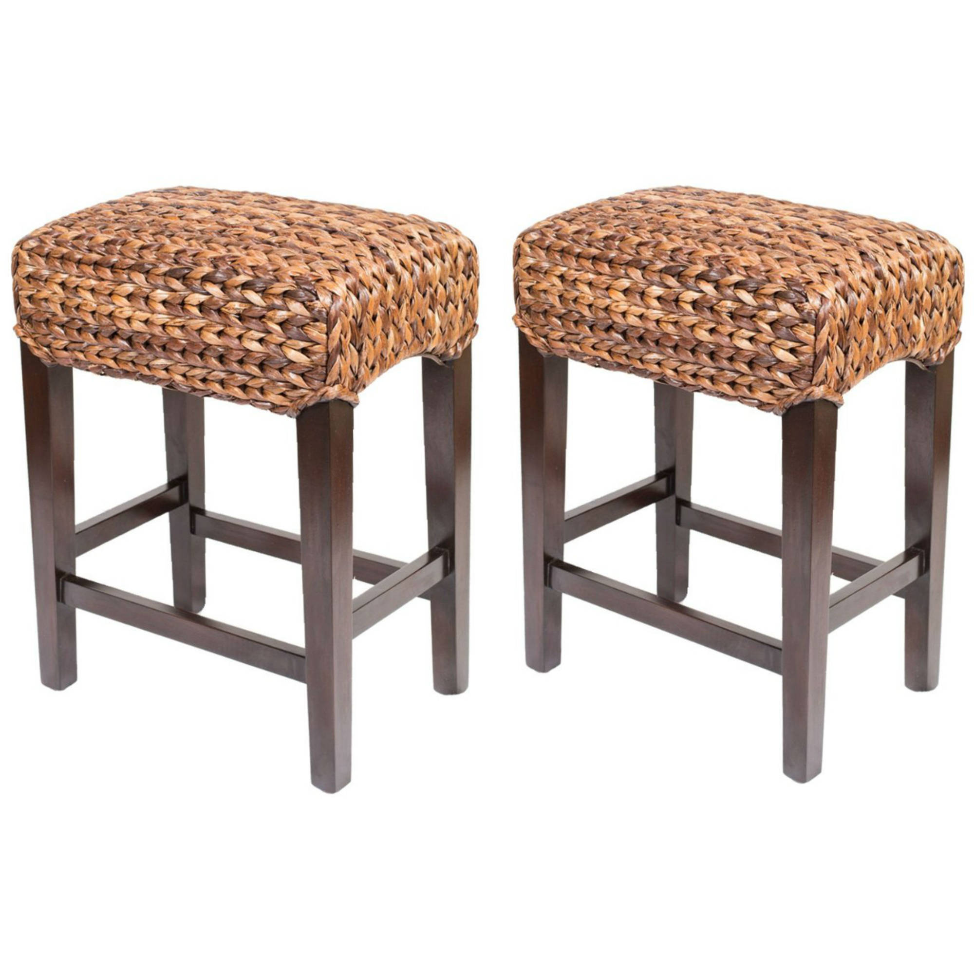 Birdrock Home Abaca Backless Counter Stools Set Of 2