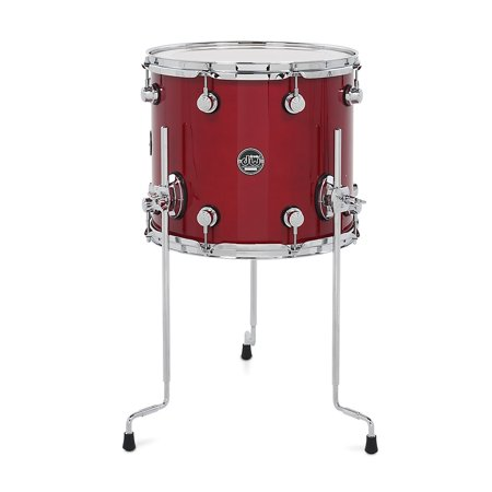 DW Performance Series Floor Tom Candy Apple Lacquer 14 x 12