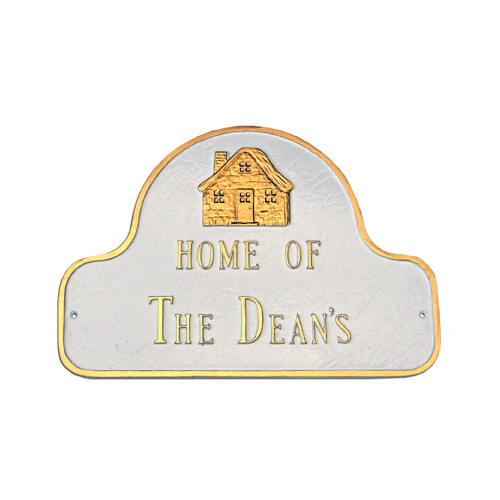 Montague Metal Products Inc. Home of Address Plaque