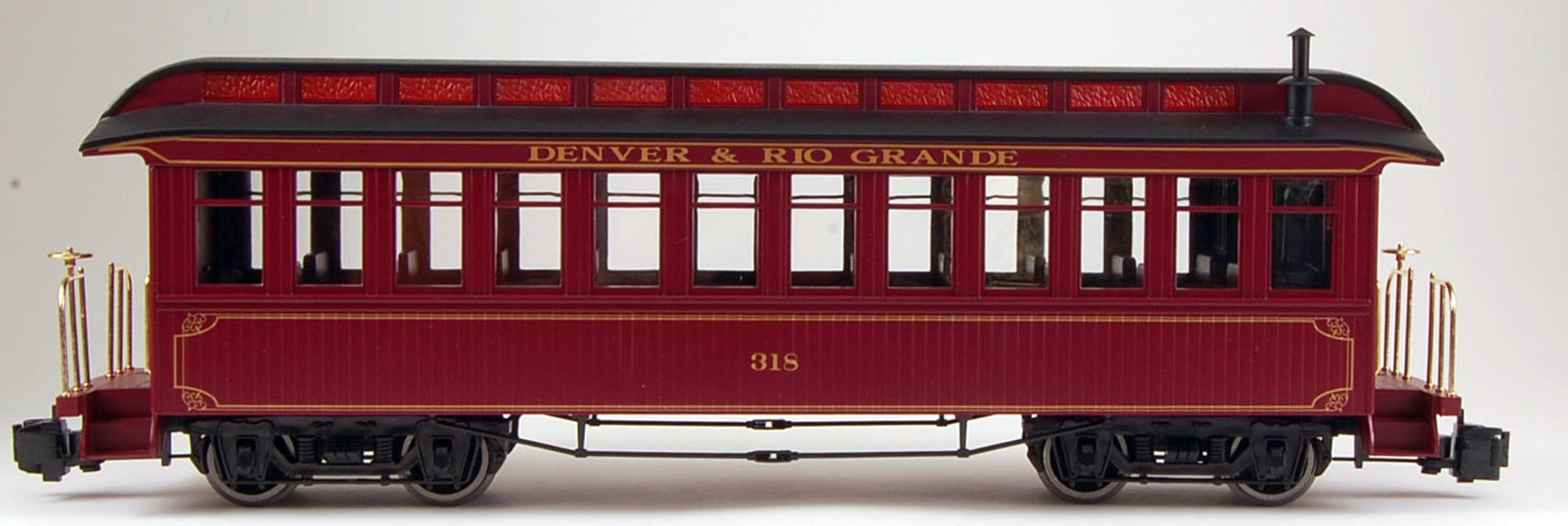 Bachmann G Scale (1:22.5 Train Coach Denver & Rio Grande 97206 by Bachmann