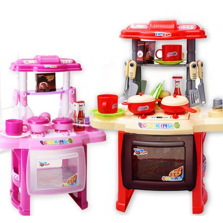 Children'S Educational Light Music Cooking Tableware Play House Kitchen Toys - image 5 of 6