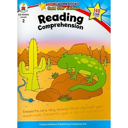 Reading Comprehension, Grade 2 : Gold Star Edition - Reading Comprehension Halloween Elementary