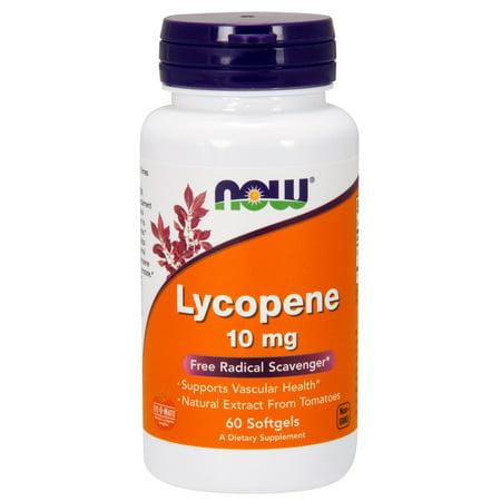 Lycopene 10mg Now Foods 60 Softgel