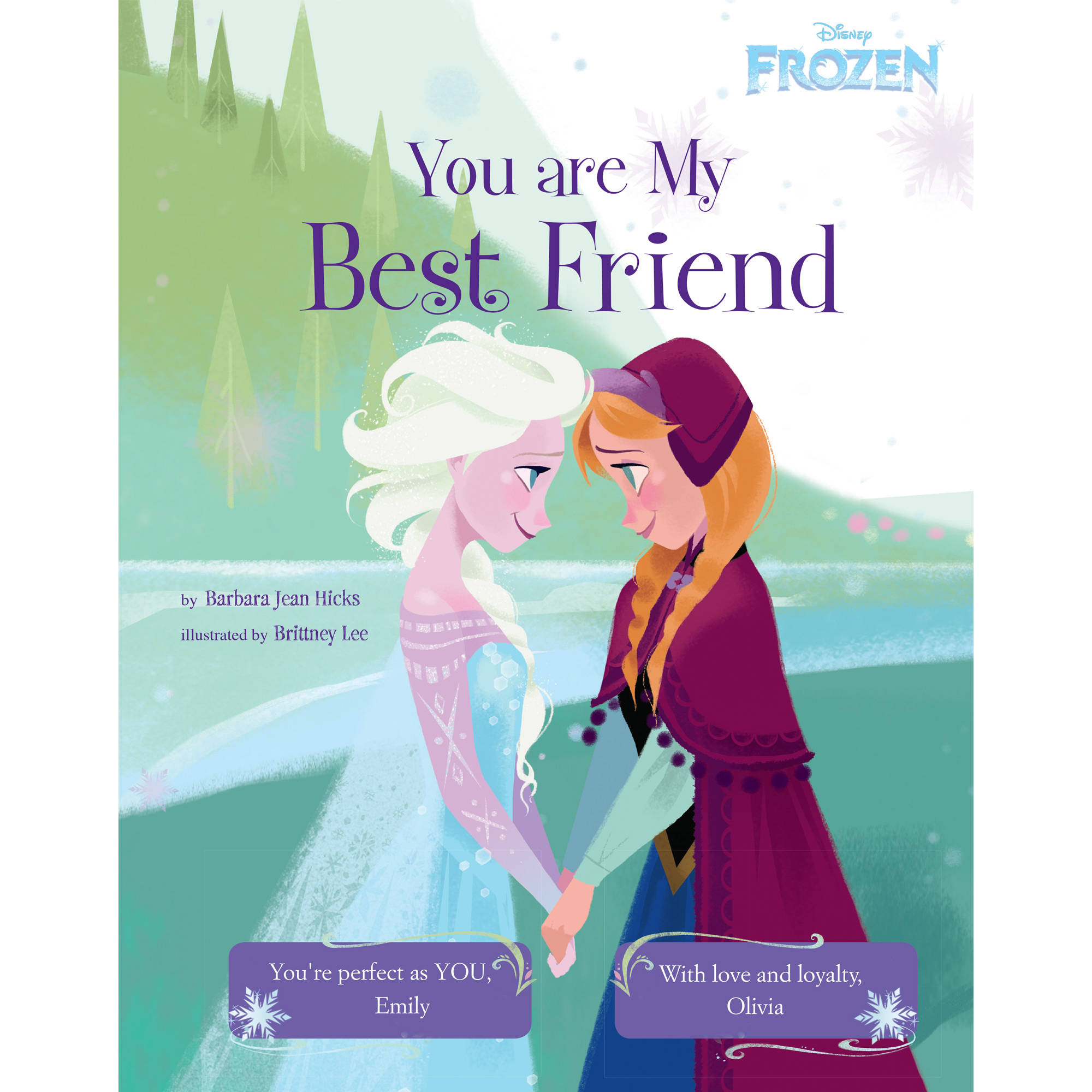 Personalized Book - Disney's Frozen: You Are My Best Friend