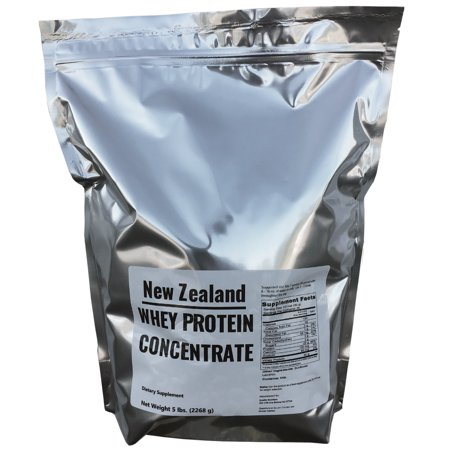New Zealand Natural Grass Fed Whey Protein 5lbs - 75 (Best Grass Fed Proteins)