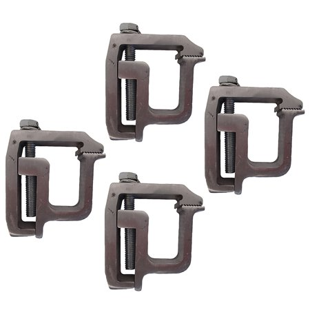 (4) heavy duty mounting clamps truck cap camper shell topper tl-2002