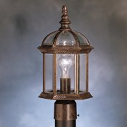 Kichler Barrie 9935 Outdoor Post Lantern - 8 in.