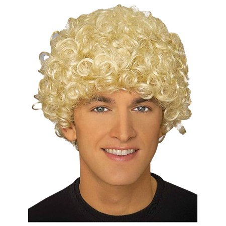 Adult Blonde 20s Harpo Marx Costume Curly Wave Wig for $<!---->