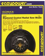 Eazypower 50638 Eazypower Oscillating Diamond Radial Saw Blade, 3-3 8 In. by Eazypower