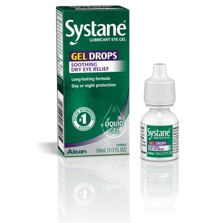 Systane Dry Eye Care Lubricant Eye Gel Drops, 10 ml