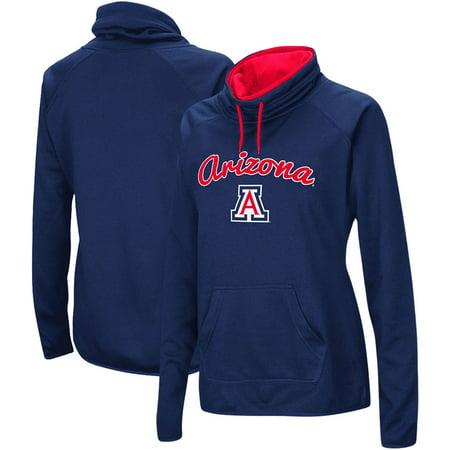 Arizona Wildcats Hoodie (Arizona Wildcats Women's Funnel Neck Pullover Sweatshirt -)
