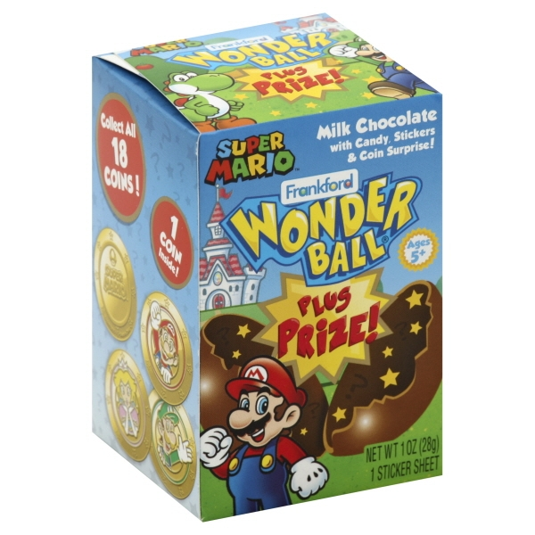 Frankford Candy Frankford Wonder Ball 1 Ea Walmart Com