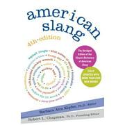 American Slang, 4th Edition (Edition 4) (Paperback)